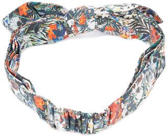 Maison Michel printed hairband