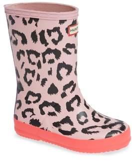 Hunter Leopard Rain Boot