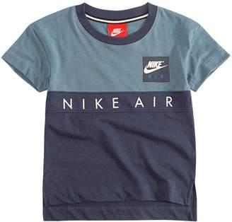 Nike Younger Boy Colourblock Tee - Blue