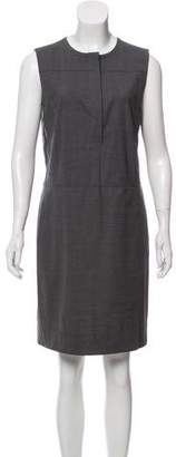 Reed Krakoff Wool Sleeveless Knee-Length Dress