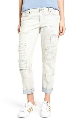 Blank NYC BLANKNYC Ripped Girlfriend Jeans