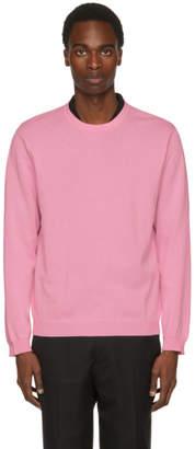 TOMORROWLAND Pink Basic Knit Sweater