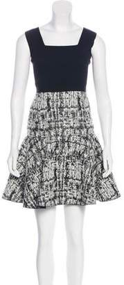 Aquilano Rimondi Aquilano.Rimondi Tweed-Accented Mini Dress