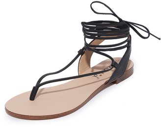 Splendid Candee Lace Up Sandals $88 thestylecure.com