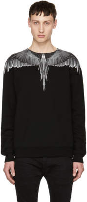 Marcelo Burlon County of Milan Black Wings Sweatshirt
