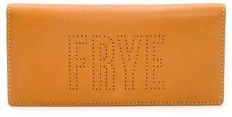Frye Carson Perforated Logo Slim Leather Wallet