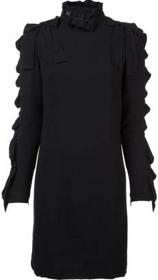 Giambattista Valli long-sleeve ruffle dress