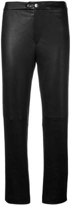 Isabel Marant cropped leather trousers