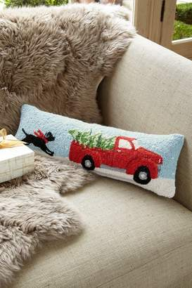 Soft Surroundings Home for Christmas Hook Pillow