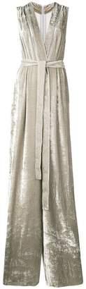Bottega Veneta plunge neck jumpsuit
