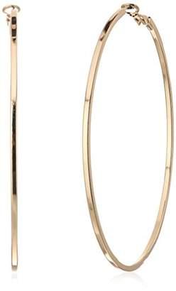 "GUESS Basic"" X Large Thin Hoop Earrings"
