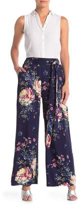 Angie Printed Wide Leg Pants