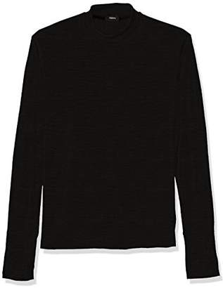 Theory Men's Long Sleeve Sweater with Mock Neck and Thumbholes