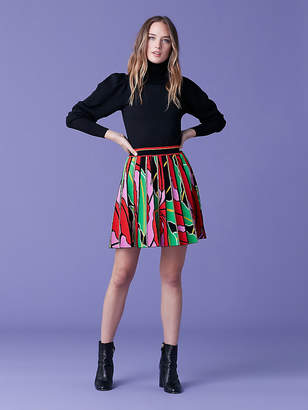 Diane von Furstenberg Phaedra Mini Skirt