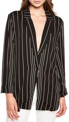 Bardot Val Stripe Boyfriend Jacket