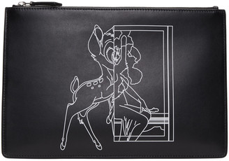 Givenchy Black Bambi Pouch $595 thestylecure.com