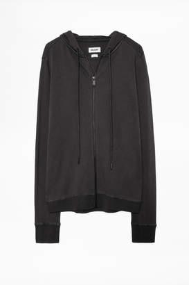 Zadig & Voltaire Comfy Satin Sweatshirt