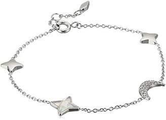 Fossil Star and Moon Glitz Bracelet