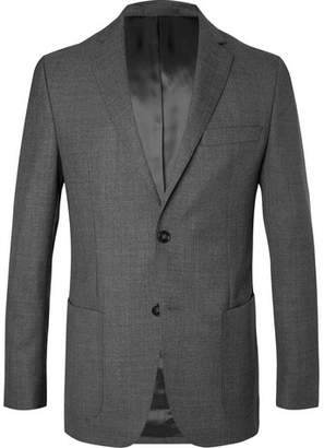 Officine Generale Grey 375 Slim-Fit Unstructured Wool Suit Jacket