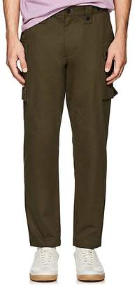 Ovadia & Sons Men's Embroidered Cotton Cargo Pants