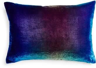 Kevin OBrien Kevin O'Brien Ombre Velvet Pillow Peacock