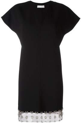 Paco Rabanne V-neck mini dress