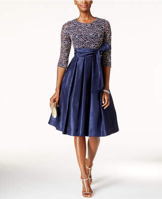 Jessica Howard Sequined Lace A-Line Dress $109 thestylecure.com