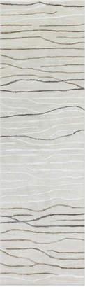 """Kenneth Mink Waves 2'6"""" x 8' Runner Area Rug"""