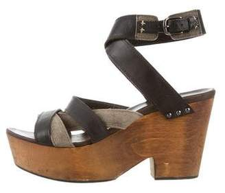 Rag & Bone Multistrap Platform Sandals