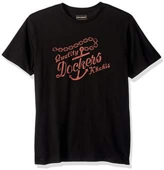 Dockers Crewneck Graphic Short Sleeve T-Shirt