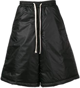 Societe Anonyme wide leg padded shorts