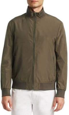 Saks Fifth Avenue COLLECTION Nylon Bomber Jacket