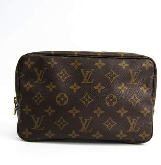 Salvatore Ferragamo Black Leather Shoulder Bag (SHA-12033)