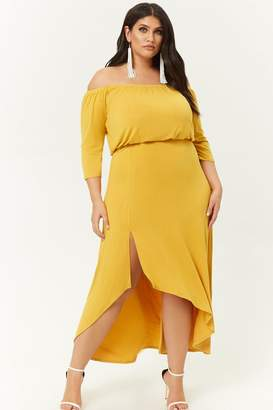 7a9d68b2b52 Forever 21 Yellow Plus Size Dresses on Sale - ShopStyle Canada