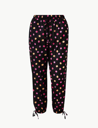 9df834f2df10 Womens Black Cotton Pyjama Bottoms - ShopStyle UK