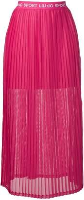 Liu Jo logo waistband skirt