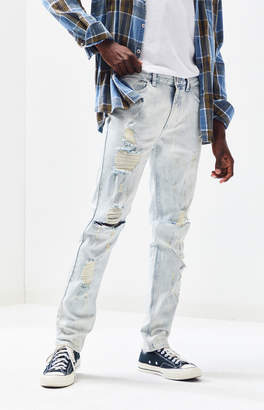 PacSun Skinny Ripped Bleached Jeans