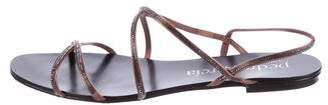 Pedro Garcia Embellished Slingback Sandals