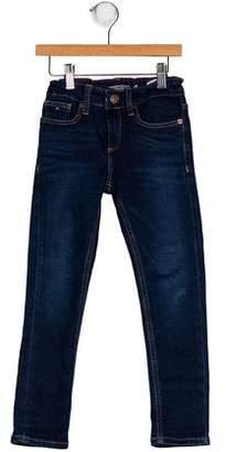 Tommy Hilfiger Boys' Five Pockets Straight-Leg Jeans