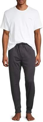 Calvin Klein 2-Piece Logo Print Pajama Set