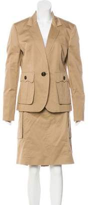 Burberry Knee-Length Skirt Set