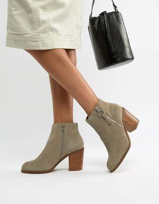 Asos Design DESIGN Explorer suede ankle boots