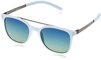 Police Sunglasses SPL169 Wager 1 Oval Polarized Sunglasses