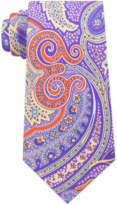 Tommy Hilfiger Men's Tropical Paisley Silk Tie