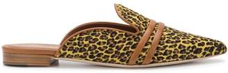 Malone Souliers leopard print mules