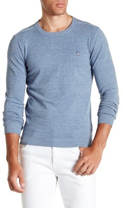 Diesel Long Sleeve Crew Neck Pullover $128 thestylecure.com