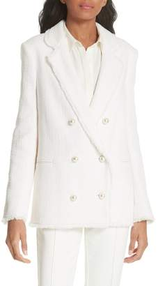 Helene Berman Oversize Tweed Blazer