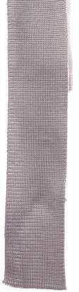 Thom Browne Striped Silk Tie
