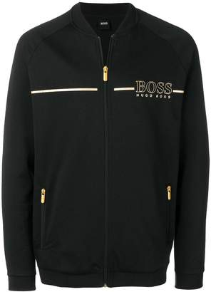 HUGO BOSS zipped sweatshirt