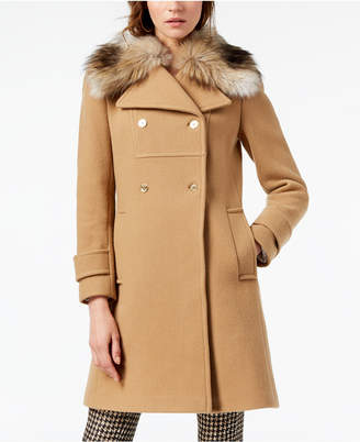 Michael Kors Faux-Fur Collar Jacket